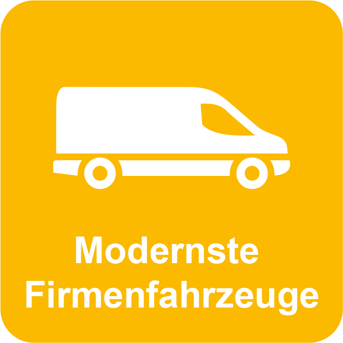 Modernste Firmenfahrzeuge